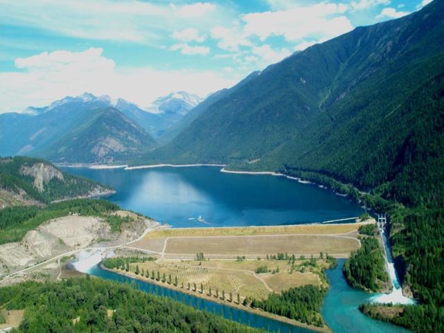 Duncan Dam at Meadow Creek