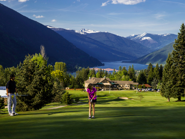 Granite Point Golf Course in Nelson