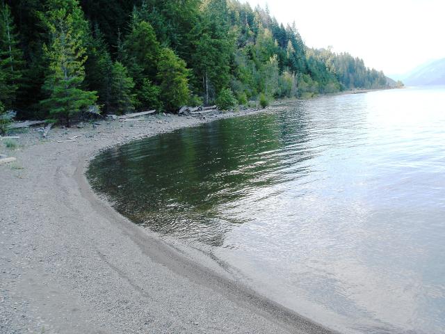 The Wing Creek beach