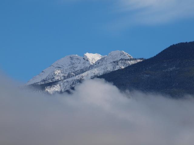 Mt. Kaslo From Wing Creek
