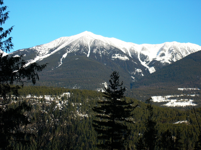 Bat Mountain from Wing Creek