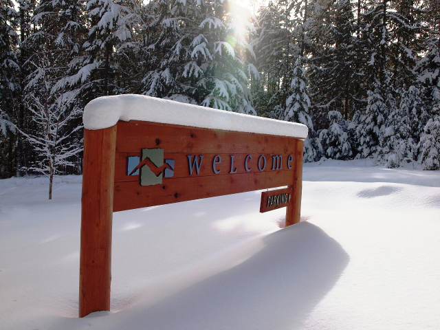Wing Creek Welcome Sign